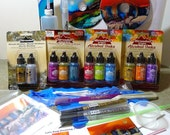 Deluxe Kit - Alcohol Inks, 2 DVDs, plus, more