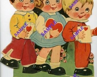 Digital Download-I'm In Line For a Valentine-Vintage