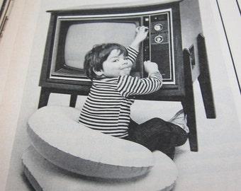 Vintage 70s Look Magazine Howard Hughes Norman Rockwell