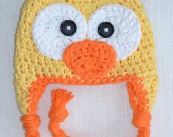 Popular items for crochet duck hat on Etsy