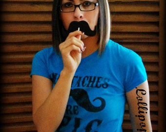 36 Lollipop Mustaches covers-Little Man Party-Mustache Party-Baby Shower props-Photo Props-Photo Booth-Mustache on a stick-Party Props