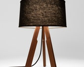 Modern Table Lamp (black/black)