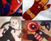 Chunky Body, Boys Custom Character Doll, Super Hero, Disney Character, You Choose, Natural Wool Materials