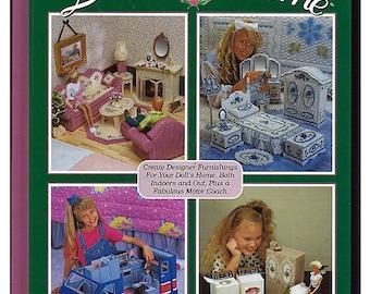 Fashion Doll Dream Home  Plastic Canvas Book  The Needlecraft Shop