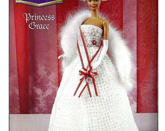 The Royal Court Collection Princess Grace Fashion Doll  Crochet Pattern  Annies Attic