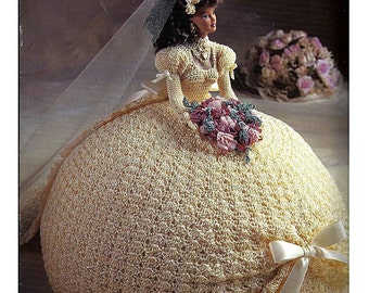 The Bridal Belle Collection Miss June Fashion Doll  Crochet Pattern  Annies Attic