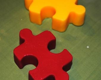 Chocolate Puzzles Pieces