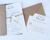 Laurel Wedding Invitation Suite