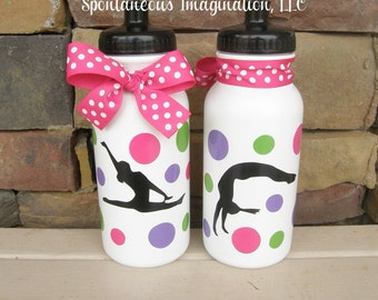 SALE Personalized Gymnastics Party Favors Kids Gift Ideas