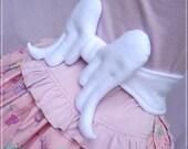 Angel wings soft ribbon tie belt angelic