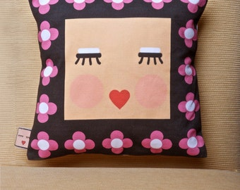 Cushion cotton, handmade, home decor, suitable for living room or bedroom, exclusive design.