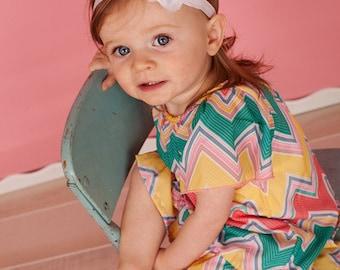 White Chiffon Lace Flower on FOE Headband -  Photo Prop - Newborn Infant Baby Toddler Girls Adult Chiffon Flower