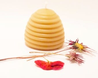 Beeswax Candle- Beehive (BURNS FOR 20 HOURS)