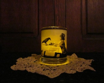Crow and Me Candleholder