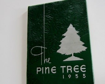 1955 Year Book Bethesda Chevy Chase High School The Pine Tree