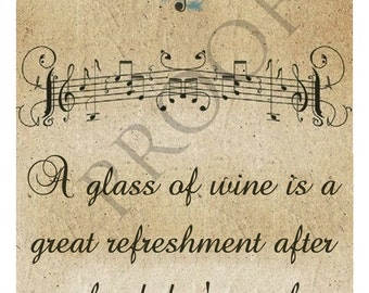 Unique Beethoven Classical Music Wine Label Custom & Personalized Available
