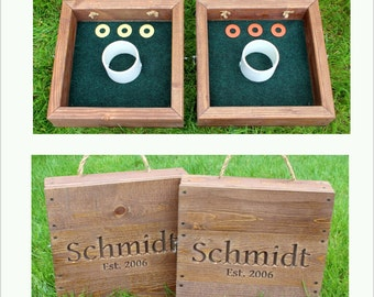 Premium Engraved Washer Toss Game