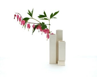 Cityscape Bud Vase- 3 openings