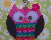 Owl Keychain Personalized Party Favor