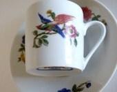 Cordon Bleu Tea Cup and Saucer, France, Vintage Tea Cup