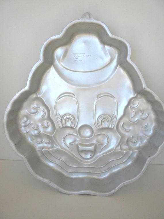 Rare Vintage Wilton Cake Pans