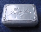 Vintage Aluminum Travel Soap Dish