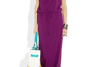 Casual jersey maxi dress. Custom dress. Plus sizes custom. Womens strapless dress. Vacation dress. Beach dress.