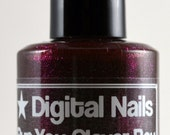 Run, You Clever Boy : Clara Oswald and  Doctor Who inspired jelly nail polish by Digital Nails