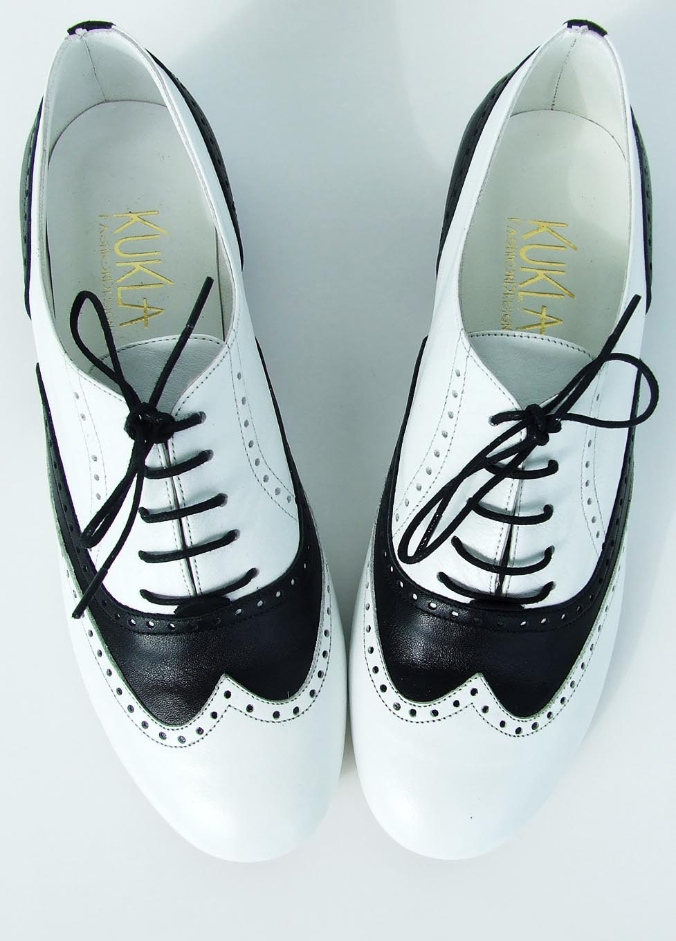 black white mafia oxford shoes by kuklafashiondesign on etsy