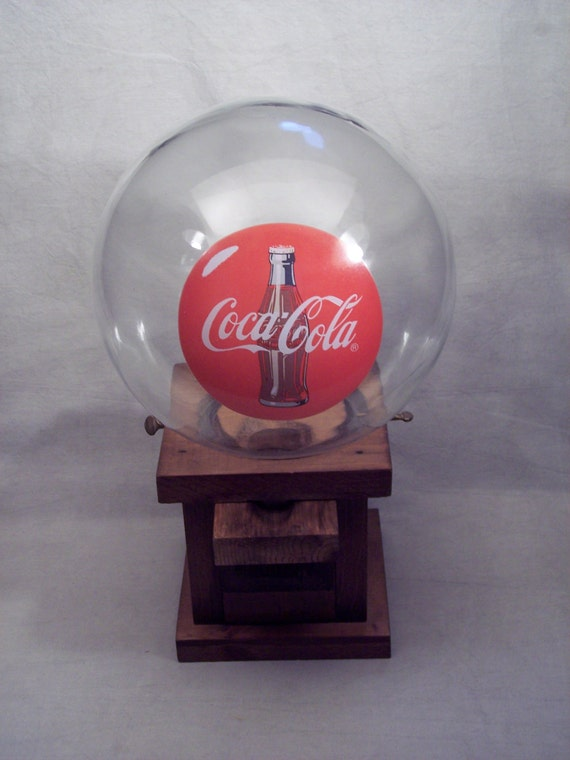 Wood Wooden Coca Cola Gum Ball Gumball By Snapshotsthroughtime