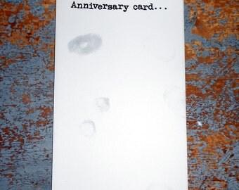 Vintage Cards, Anniversary, Hallmark, Greeting Card, Funny, Unused