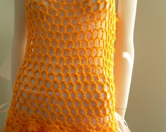 Mesh Pineapple Cover-Up