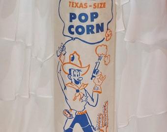 30 Retro Vintage GatheR Up Yer COWBOY  BiG-ol Bag of Popcorn - 30 LARGE popcorn Bags,CowGirl -Party, Weddings, WesTeRn  Carnival, CIr