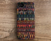 Unique iPhone 5 case Tribal iPhone 4 case iPhone 4s case unique iPhone 4 case ethnic hippie hipster boho aztec colorful iphone 5 case /c109
