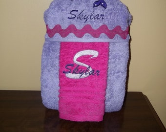 Dolphin Hooded Towel Personalized Free