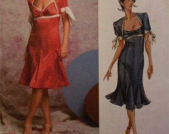 Dress by Donna Karan  Vogue American Designer Pattern 2785   Uncut   Sizes 18-20-22  or 6-8-10