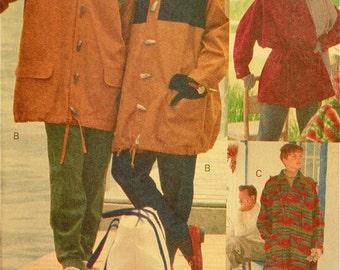 """Unisex Jacket & Coat - 1990's - Vogue Sport Pattern 8180  Uncut  Sizes XS-S-M  Chest 30-40"""""""