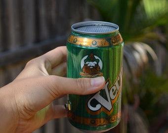 The Jam Can Portable Guitar Amplifier: Recycled Vernors Ginger Ale Can