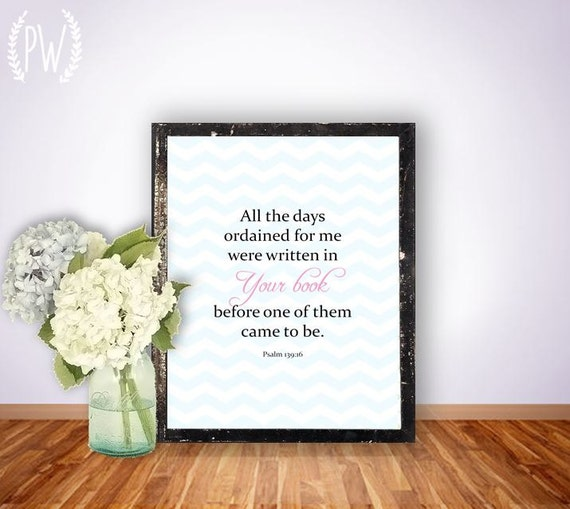 Items similar to bible verse print nursery children 39 s for Bible verses for kids rooms