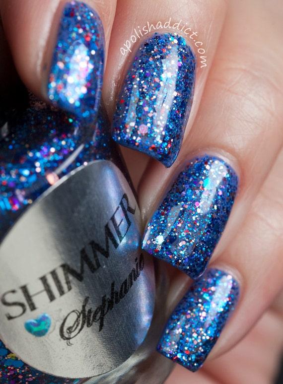 Shimmer Nail Polish - Stephanie