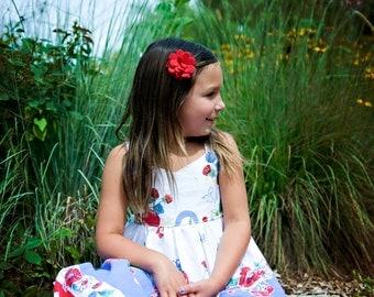 Toddler Hair Clips.Baby Hair Clips.Baby Bows.Eco Friendly Felt Flower.Baby Felt Clip.Felt Flower Clip.Felt Flower Hair Clip.Hair Clips