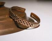 men's cuff bracelet, wire wrapped jewelry handmade,copper jewelry, men's bracelet,jewelry handmade, copper bracelet