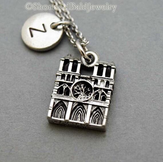 Notre dame de paris necklace notre dame cathedral necklace like this item aloadofball Images