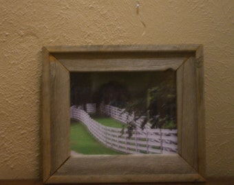 The Fence photograph by Bunky Mitchell