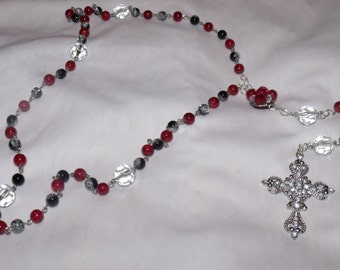Unique and bright rosary