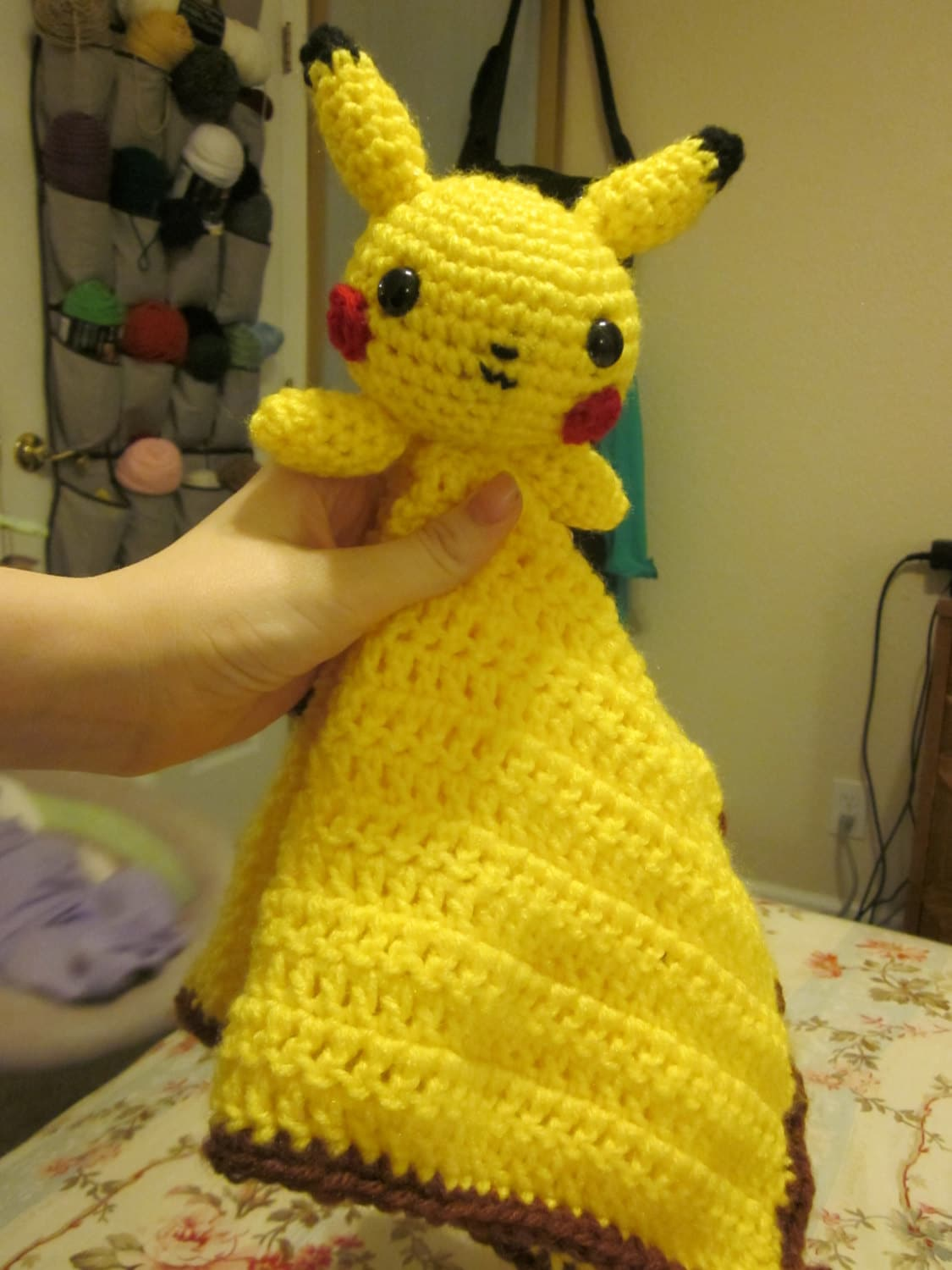 Pikachu Lovey Crochet Pattern Download
