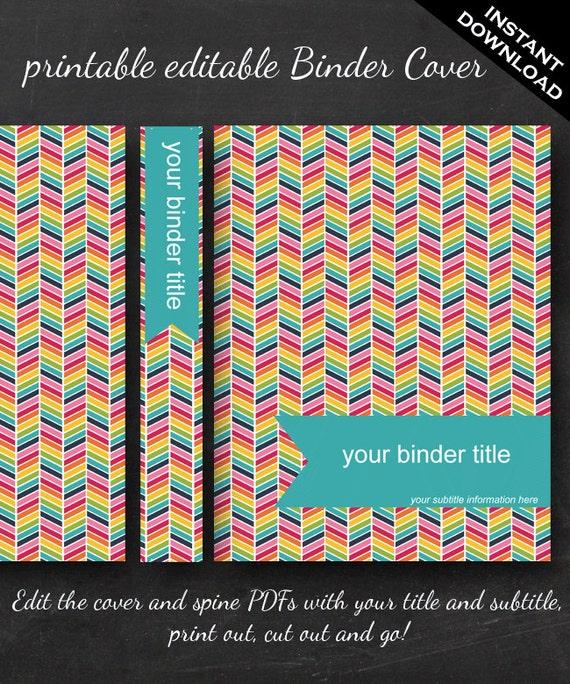Binder Cover - P...1 1 2 Binder Spine Template