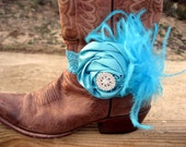 Reserved Listing For Vickie  Lace Cowgirl Boots Bracelet & Matching Headband