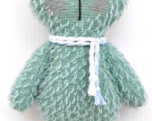 Mint  Mohair TeddyBear for Baby Gift   available to ship
