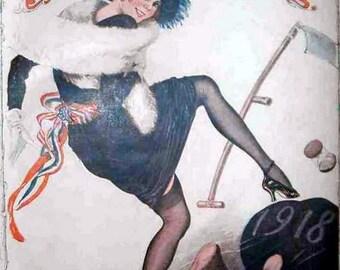 La Vie Parisienne cover, 1919 New Year Edition Print